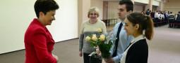 Wizyta Pani Prezydent Warszawy w naszym liceum
