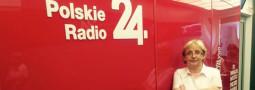 Polskie Radio 24. Audycja o szkole z udziałem Pani Dyrektor