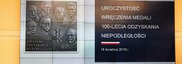 Pani Dyrektor odznaczona Medalem 100-lecia Odzyskania Niepodległości