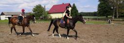 Czerwcowy weekend na koniach